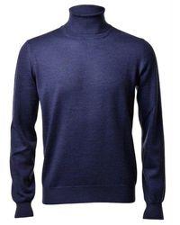 Gran Sasso Wool Sweater - Blue