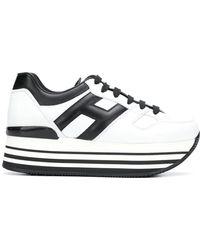 Hogan Maxi H222 Trainers - White