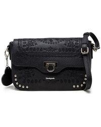Desigual Black Polyester Shoulder Bag