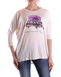 Liu Jo White Viscose T-shirt