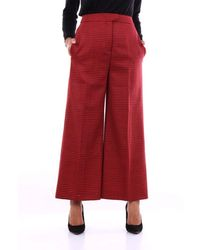 PT01 Wool Trousers - Red