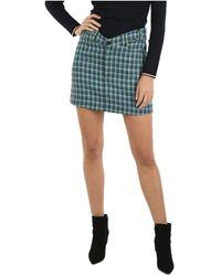 Balenciaga Wool Skirt - Blue
