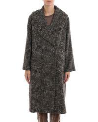 Fabiana Filippi Wool Coat - Grey