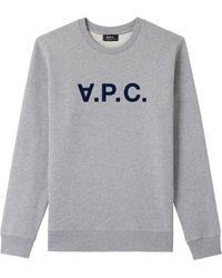 A.P.C. - Sweatshirt - Lyst