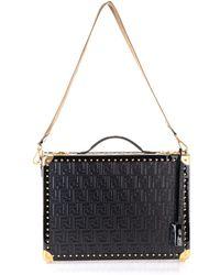 Fendi Men's 7vv135a8v2f15zw Black Leather Briefcase