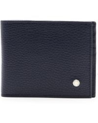 Orciani Blue Leather Wallet