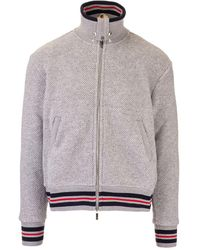 Thom Browne - Zipped Pullover - Lyst