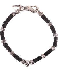 Emanuele Bicocchi Black Other Materials Bracelet