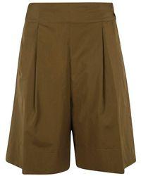 Aspesi Cotton Shorts - Brown