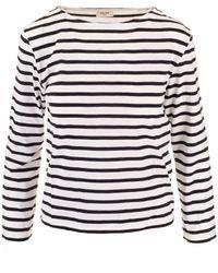 Céline White Cotton T-shirt