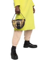 Versace Jeans Couture Handtasche mit Logo - Schwarz