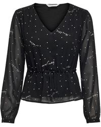 ONLY 15221853 Polyester Blouse - Black