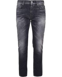 7 For All Mankind BAUMWOLLE JEANS - Grau