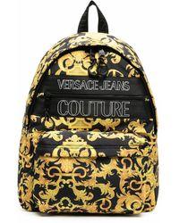 Versace Jeans Couture POLYAMID RUCKSACK - Mettallic