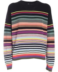 Paul Smith Cotton Sweater - Black