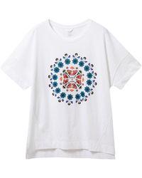 Desigual 21sotk26 Cotton T-shirt - White