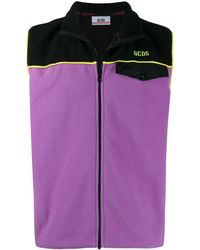 Gcds - Purple Polyester Vest - Lyst