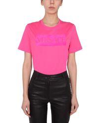 Versace ANDERE MATERIALIEN T-SHIRT - Pink
