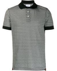 Ferragamo Gancini Monogram Polo Shirt - Multicolour
