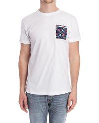 Roda White Cotton T-shirt