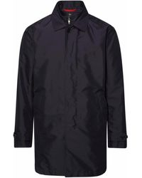 Fay POLYESTER TRENCH COAT - Blau