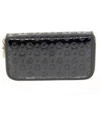 Pollini - Black Polyurethane Wallet - Lyst