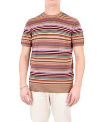 Drumohr Multicolour Cotton T-shirt