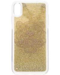 KENZO GOLD PVC COVER - Mettallic