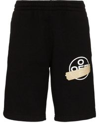 Off-White c/o Virgil Abloh Black Cotton Shorts