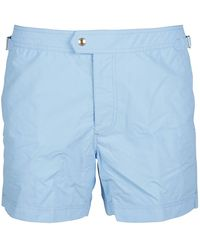 Tom Ford Synthetic Fibres Trunks - Blue