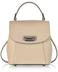 Le Parmentier - Pink Leather Backpack - Lyst
