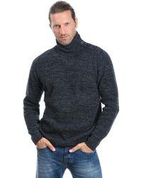 Paolo Pecora Grey Wool Jumper - Gray