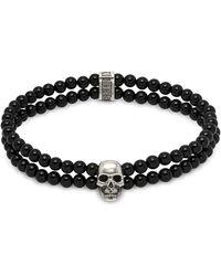 Northskull Black Steel Bracelet