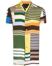 Rick Owens - Men's Ru20s7292ccp10a Multicolor Viscose Shirt - Lyst