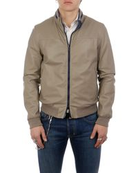 Gimo's Polyester Outerwear Jacket - Brown