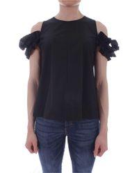 iBlues Black Cotton Top