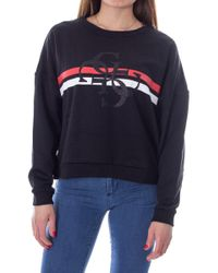 Guess Black Polyester Sweatshirt
