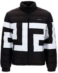 Versace Other Materials Down Jacket - Black