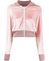 Palm Angels ROSA VISKOSE SWEATSHIRT - Pink