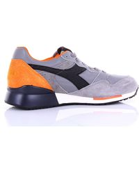 Diadora Leather Sneakers - Blue