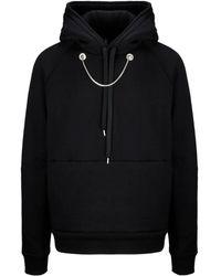 Neil Barrett Bjs530em582s01 Cotton Sweatshirt - Black