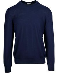 Dior Blue Wool Jumper
