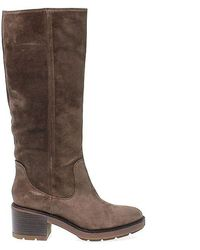 Janet & Janet Brown Suede Boots