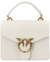 Pinko Other Materials Handbag - White