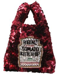 Anya Hindmarch ANDERE MATERIALIEN TOTE - Rot