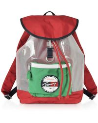 Tommy Hilfiger The Heritage Red Nylon Backpack