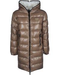 Duvetica Beige Polyamide Down Jacket - Natural