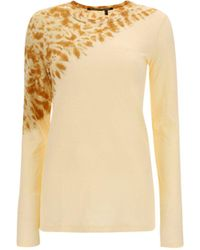 Proenza Schouler Beige Other Materials T-shirt - Brown