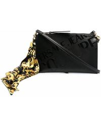 Versace Jeans Couture Leather Pouch - Black