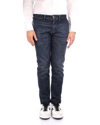 Jeckerson Blue Cotton Jeans